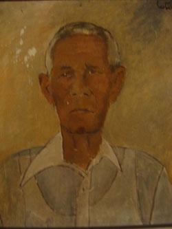 Portrait de G. Liautaud par Luce Turnier